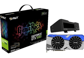 PALIT GeForce GTX 1080 GameRock 8GB + G-Panel (NEB1080T15P2GP)( NVIDIA, Grafikkarte)