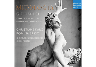 Christiane Karg, Romina Basso, Il Complesso Barocco - Mitologia-Händel's Heroes [CD]