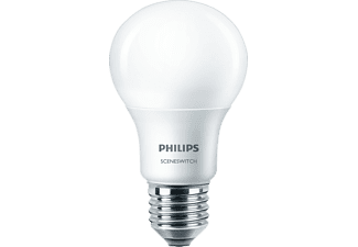 PHILIPS 58884000 SceneSwitch LED Leuchtmittel E27 Warmweiß 8 Watt 806 Lumen