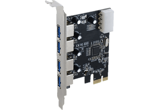 SEDNA PCI-E USB3.0 4 Port Controller, interne PCI-E Karte
