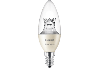 PHILIPS 59847400 SceneSwitch LED Leuchtmittel E14 Warmweiß 5.5 Watt 470 Lumen