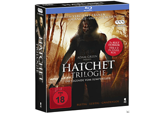 Hatchet 1-3 (Limited Futurepak Edition) [Blu-ray]