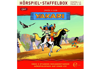 Yakari - Staffelbox (1.1) - (MP3-CD)