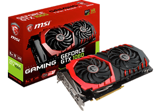 MSI GeForce GTX 1060 Gaming 6 GB (V328-012R)( NVIDIA, Grafikkarte)