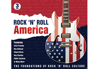 VARIOUS - Rock'N Roll America [CD]