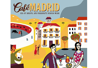 VARIOUS - Cafe Madrid [CD]