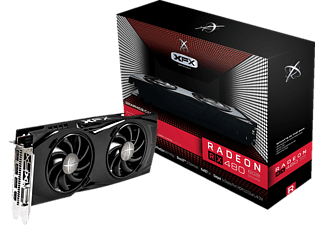 XFX Radeon RX 480 GTR Black Edition 8GB (RX-480P8DBA6) (AMD, Grafikkarte)