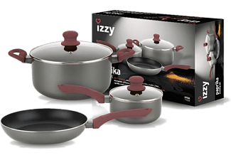 IZZY Σετ Cookware Paprika (5 τεμάχια)