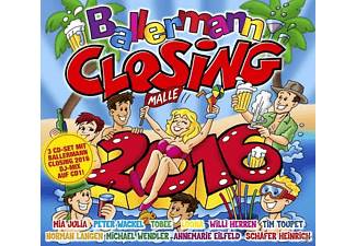 VARIOUS - Ballermann Closing 2016 - (CD)