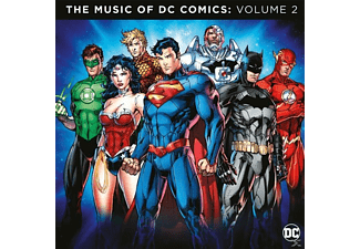 VARIOUS - The Music Of DC Comics Vol.2 (BL - (Vinyl)