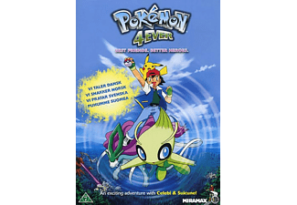 Pokémon 4Ever Animation / Tecknat DVD