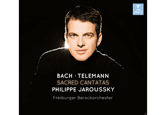 Philippe Jaroussky, Freiburger Barockorchester - Sacred Cantatas (Ltd.Deluxe Edition) - (CD + DVD Video)