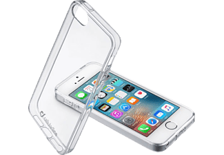 CELLULAR LINE Clear Duo iPhone 5, iPhone 5s, iPhone SE Handyhülle, Transparent