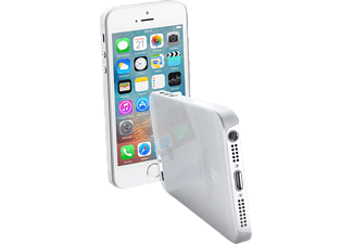 CELLULAR LINE ZERO 0.4, Apple, Backcover, iPhone 5, iPhone 5s, iPhone SE, Kunststoff, Transparent