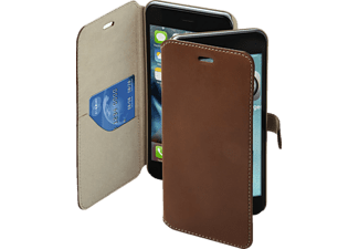 HAMA Prime Line, Apple, Bookcover, iPhone 7 Plus, Leder (Obermaterial), Braun