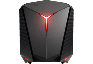 LENOVO IdeaCentre Y710 Cube, Desktop-PC mit Core i7 Prozessor, 24 GB RAM, 2 TB HDD, 256 GB SSD, GeForce GTX 1080, 8 GB DDR5 Grafikspeicher