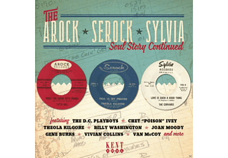 VARIOUS - The Arock/Serock/Sylvia Soul Story Continued - (CD)