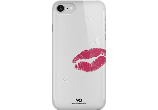 WHITE DIAMONDS Lipstick Kiss, Backcover, iPhone 7, Polycarbonat, Crystal/Transparent