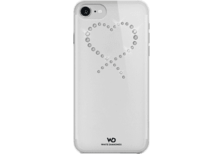 WHITE DIAMONDS Eternity, Backcover, iPhone 7, Crystal/Transparent