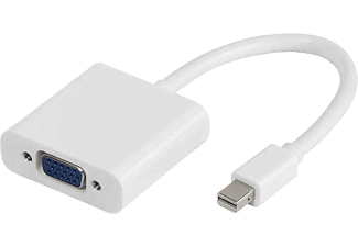VIVANCO Mini DisplayPort till VGA Adapter - Vit