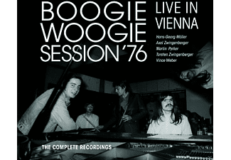 Axel Zwingenberger, Vince Weber, Martin Pyrker, Hans-georg Moller, Torsten Zwingenberger - Boogie Woogie Session 1976 [CD + DVD Video]