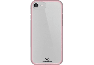 HAMA Essential Backcover Apple iPhone 7 Kunststoff/Polycarbonat/Thermoplastisches Polyurethan Rose Quartz