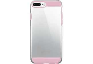 HAMA Innocence, Backcover, iPhone 7 Plus, Kunststoff/Polycarbonat (PC)/Thermoplastisches Polyurethan (TPU), Rose Quartz