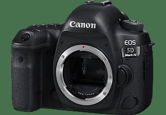 CANON EOS 5D MARK IV Body Spiegelreflexkamera, 30.4 Megapixel, 4K, Full HD, HD, Touchscreen Display, WLAN, Schwarz