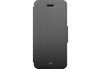 HAMA Mesh Bookcover Apple iPhone 7 Thermoplastisches Polyurethan Grau