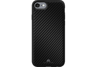 BLACK ROCK Material, Backcover, Apple, iPhone 7, Carbon/Metall/Polycarbonat (PC)/Thermoplastisches Polyurethan (TPU), Schwarz