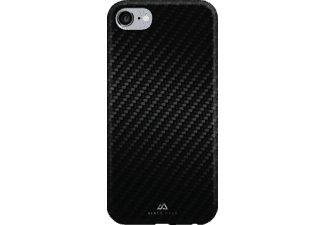 HAMA Flex-Carbon Backcover Apple iPhone 7 Kunststoff/Mikrofaser/Polycarbonat (PC) Schwarz