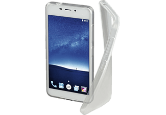HAMA Crystal Backcover, ZTE, Blade V580, Thermoplastisches Polyurethan, Transparent