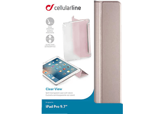 CELLULAR LINE Clear View, Bookcover, 9.7 Zoll, iPad Pro, Rose