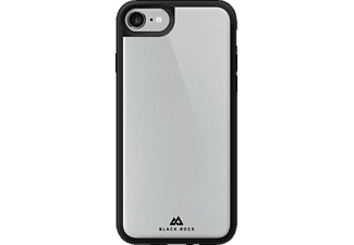 HAMA Tough and Touch, Backcover, Apple, iPhone 7, Glas/Polycarbonat (PC)/Thermoplastisches Polyurethan (TPU), Schwarz