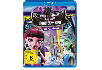 Monster High - Willkommen an der Monster High - (Blu-ray)