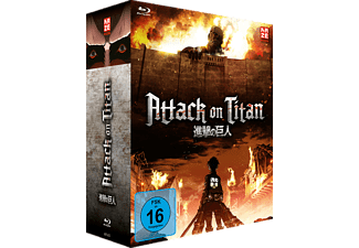Attack on Titan – Blu-ray Box 1 – Limited Edition mit Sammelbox [Blu-ray]