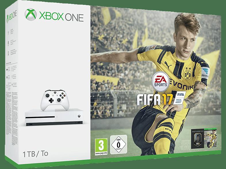 Microsoft Xbox One S 1TB Konsole – FIFA 17 Bundle