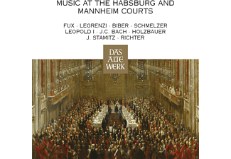 Nikolaus Harnoncourt, Concentus Musicus Wien - Music At The Habsburg And Mannheim Courts(Daw [CD]
