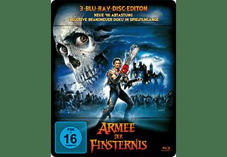 Die Armee der Finsternis – Exklusives Steelbook (Neue 4K-Abtastung+Neues Bonusmaterial, 3 Discs) - (Blu-ray)
