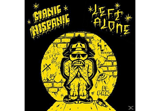 Manic Hispanic, Left Alone - SPLIT - (Vinyl)