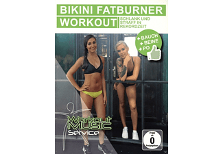 BIKINI FATBURNER WORKOUT-BAUCH BEINE PO - (DVD)