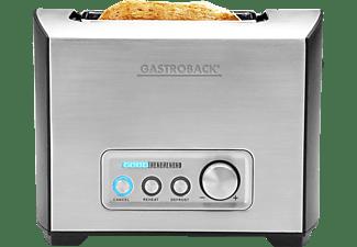 gastroback toaster 42397 design pro 2s edelstahl mediamarkt. Black Bedroom Furniture Sets. Home Design Ideas