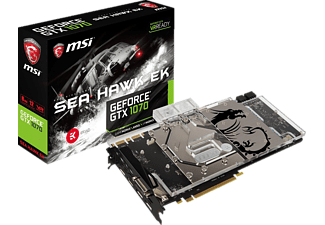 MSI GeForce® GTX 1070 Sea Hawk EK X 8 GB (V330-013R)( NVIDIA, Grafikkarte)