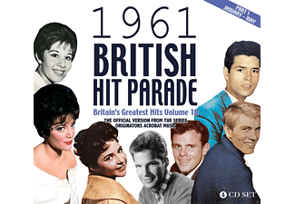 VARIOUS - The 1961 British Hit Parade Part One: Jan.-Apr. - (CD)
