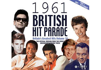 VARIOUS - The 1961 British Hit Parade Part Two: Apr.-Sept. - (CD)