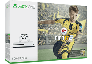 MICROSOFT Xbox One S 500GB FIFA 17 Bundle