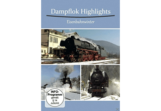 Dampflok Highlights - Eisenbahnwinter - (DVD)