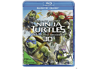 Teenage Mutant Ninja Turtles - out of the Shadows [3D BD&2D BD, Blu-ray]