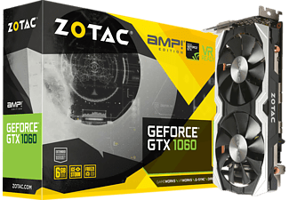 ZOTAC GeForce® GTX 1060 AMP! Edition, 6GB GDDR5 (ZT-P10600B-10M)