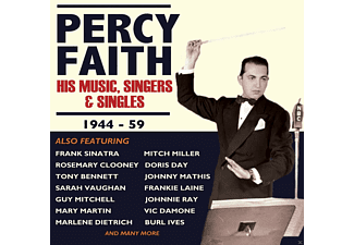 VARIOUS - Percy Faith-His Music,Singers & Singles 1944-59 - (CD)